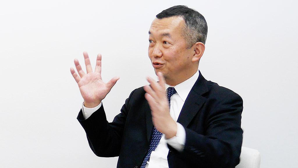 日本証券新聞社 代表取締役社長 増子光正様